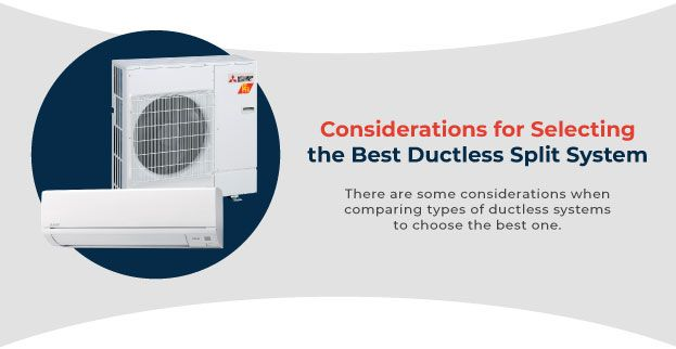 Selecting the best ductless split system